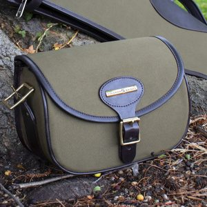 Canvas and Leather Cartridge Bag 75